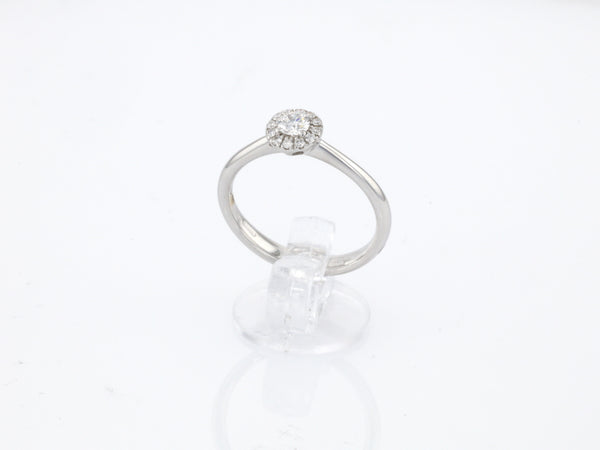 18 ct white gold Engagement ring