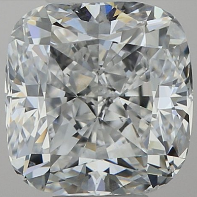 1.04 Cushion White D Diamond