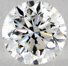 1 carat Round F White Diamond