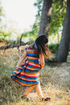 Retro Rainbow dress