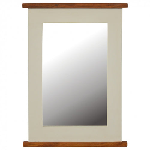 2 Tone Farmhouse Chic Dressing Table Or  Wall Mirror - Its Good To Be Home