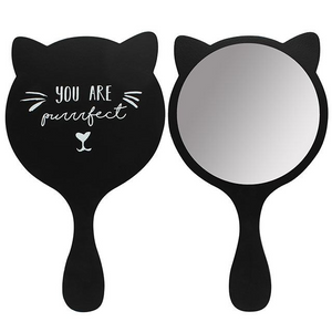 Kitty Cat Puuurfect Hand Mirror - Its Good To Be Home