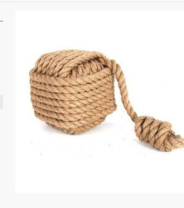 Nautical Square Rope Door Stop - Its Good To Be Home