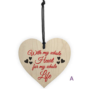 DIVV Wine Tags Decor Plaques Wooden Hanging Gift Plaque Pendant Family Friendship Love Sign A801 5 LE2
