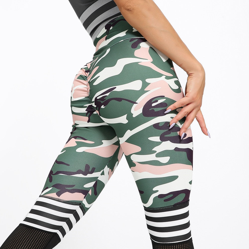 High Waist Push Up Sport Leggings