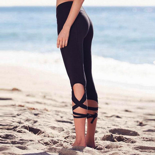 Solid Bandage Gym Legging