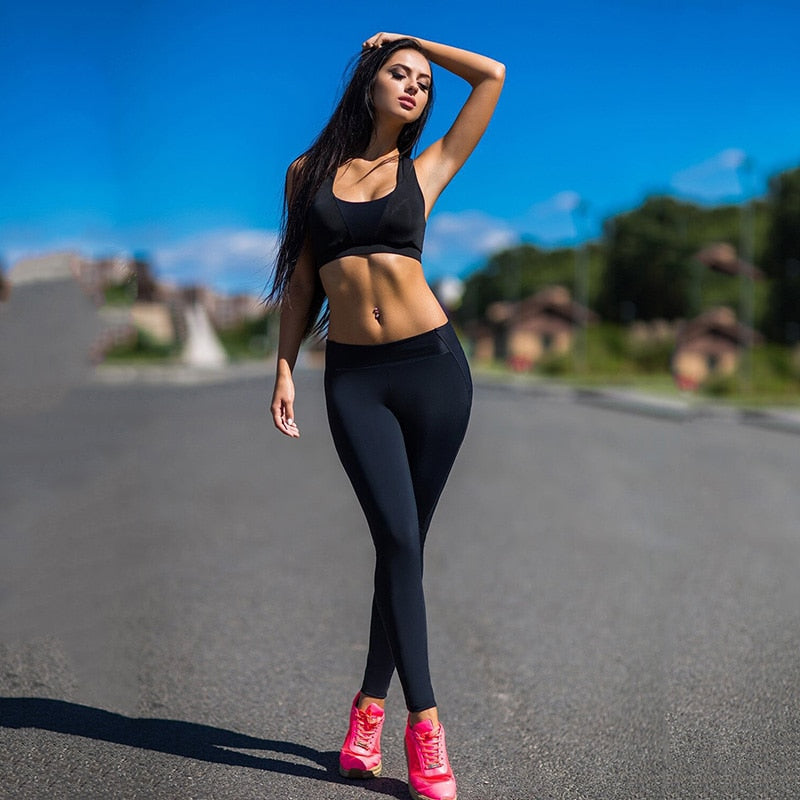 Black Active Energy Tights
