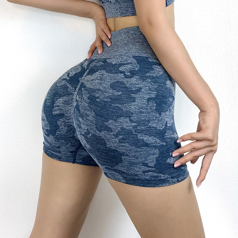 Camo Seamless Hip Up Tight