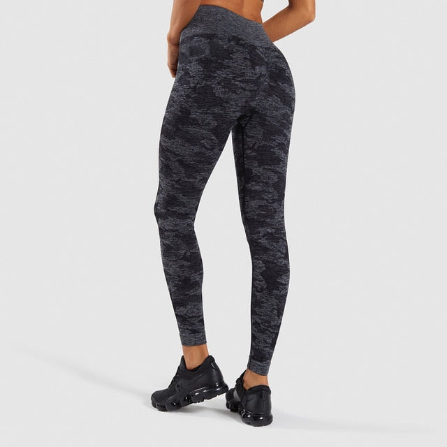 Camouflage High Waisted Yoga Pant