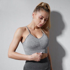 Seamless Fitness Sports Bra