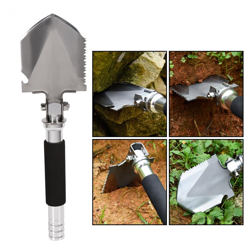 Multi-functional Military Folding Shovel