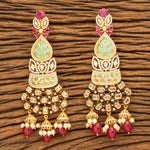 Be Beautiful CZ Classic Earrings-Ruby
