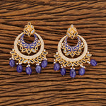 Be Beautiful CZ Classic Earrings-Blue