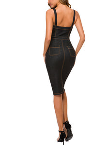 Bodycon Denim Dress | Findalls