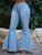 High Waist Flaared Denim Retro Bell Bottom Jeans