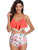 two-piece-off-shoulder-ruffled-flounce-crop-bikini -Findalls