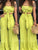 lovely-casual-knot-design-green-two-piece-pants-set -Findalls