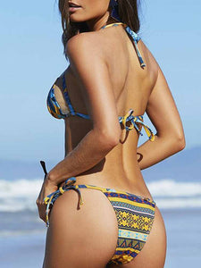 tropical-yellow-mesh-bikinis-swimsuit-set -Findalls