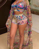 trendy-floral-printed-multicolor-bikinis-with-coverups -Findalls