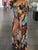 sexy-multicolor-tie-dye-spaghetti-strap-chest-tie-swimsuit-cover-up -Findalls