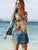 color-block-cover-ups-swimwear-1 -Findalls