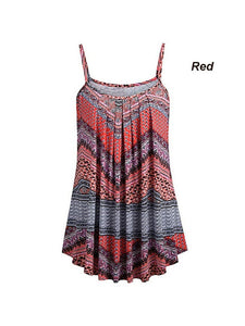 Plus Size Spaghetti Strap Tank Top for Women
