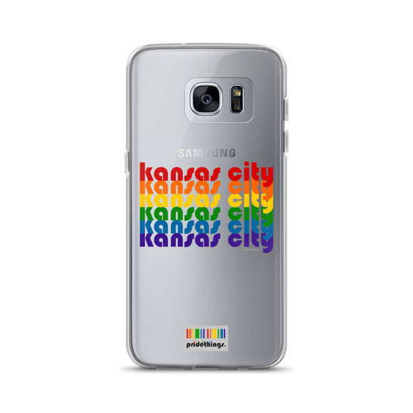 Kansas City Pride Clear Samsung Galaxy Phone Cases by Pridethings™
