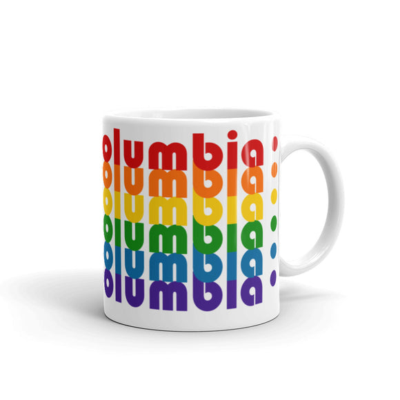 British Columbia Pride Rainbow Mugs by Pridethings™ ~ 11 oz. or 15 oz.