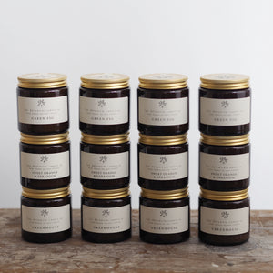 The Fresh Collection Cases in Amber Jars