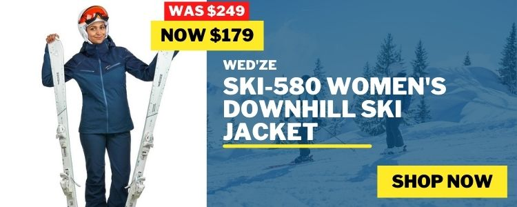 Women's Snow Jackets mobile banner
