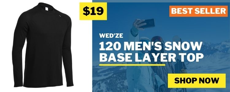 Men's Snow Base-Layers mobile banner