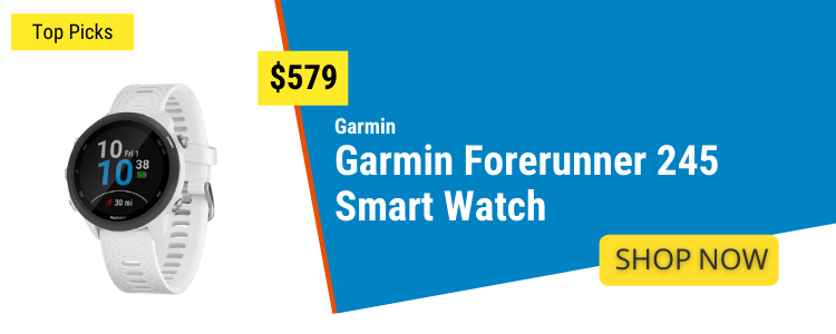Fitness Watches mobile banner