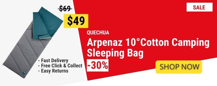 Sleeping Bags & Liners mobile banner