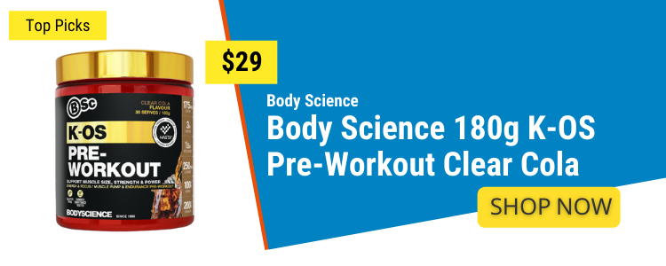 Pre Workout mobile banner