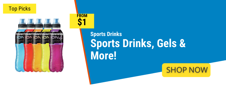 Sports Drinks mobile banner