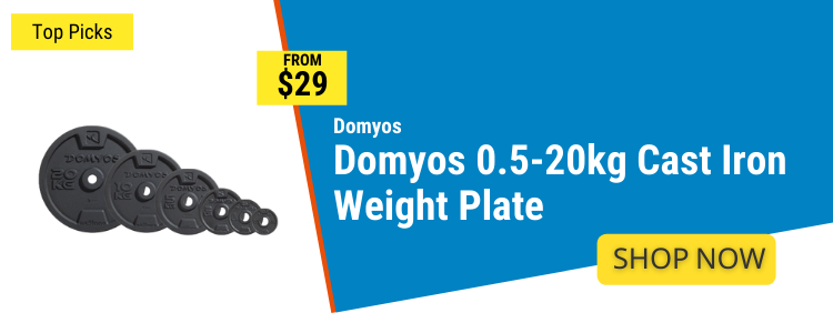 Weight Plates mobile banner