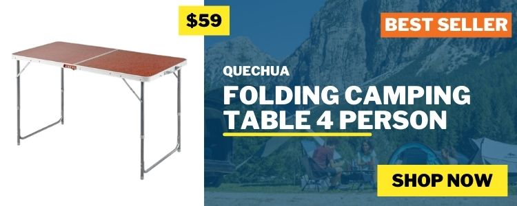 Camping Tables & Cupboards mobile banner