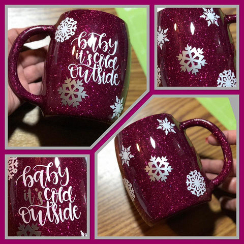 14 oz. Coffee Cup - Baby It's Cold Outside