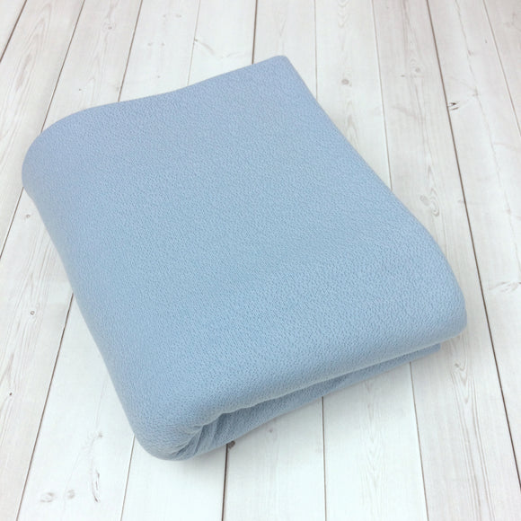 Newborn Posing Fabric Textured Blue
