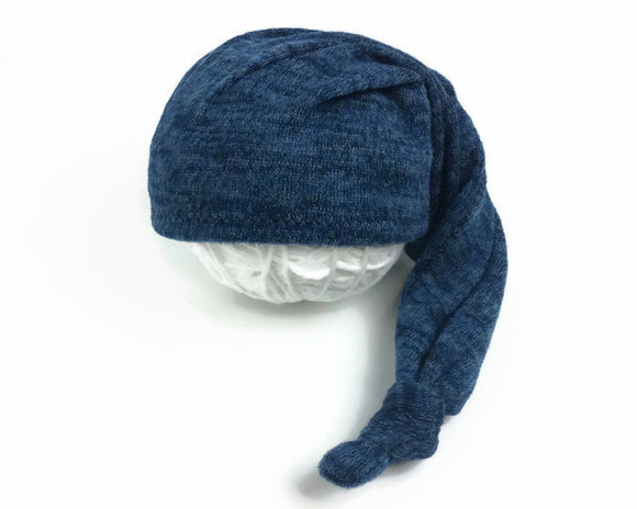 Blue Newborn Sleepy Hat