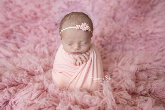 Blush Newborn Stretch Wrap