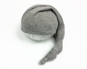 Light Grey Newborn Sleepy Hat