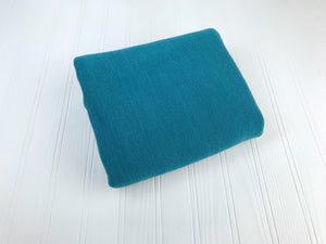 Teal Variegated Sweater Knit Newborn Posing Fabric