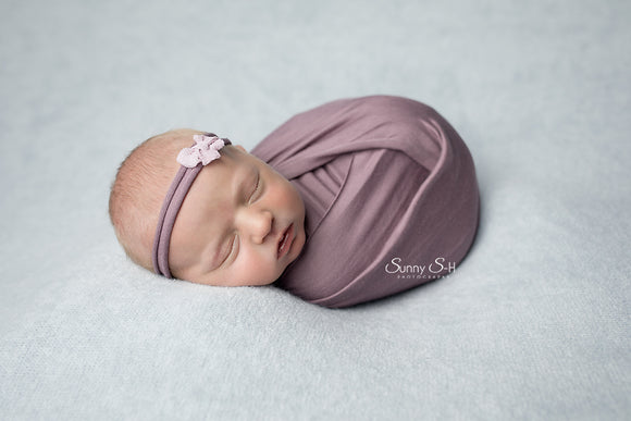 Wisteria Newborn Stretch Wrap