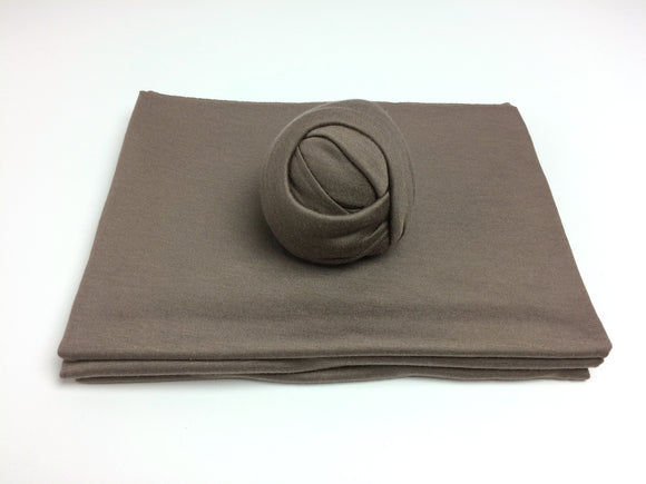 Dark Mocha Newborn Stretch Wrap