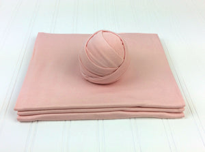 Petal Pink Newborn Stretch Wrap