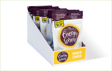 Multi pack of Grass Roots Kitchen Energy Spheres in Ginger Zinger flavour.