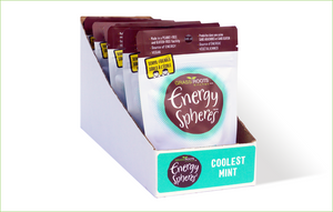 Multi pack of Grass Roots Kitchen Energy Spheres in Coolest Mint flavour.