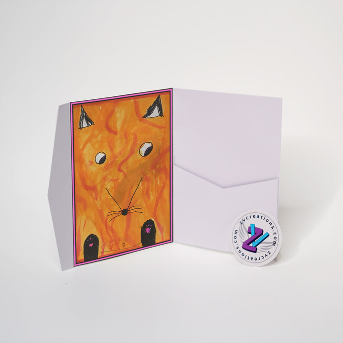 Cards - Foxy