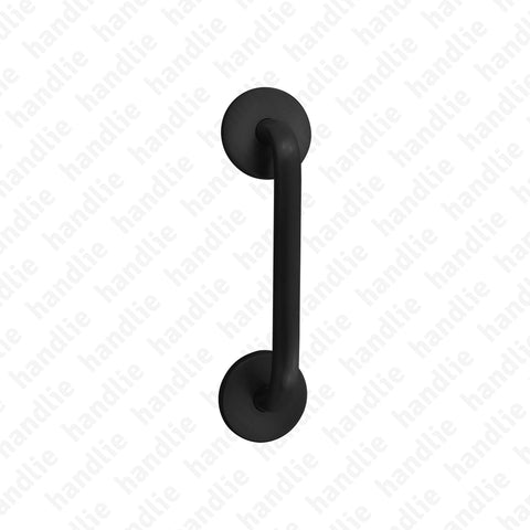 A.5337 - Single pull handle for doors - Matt Black